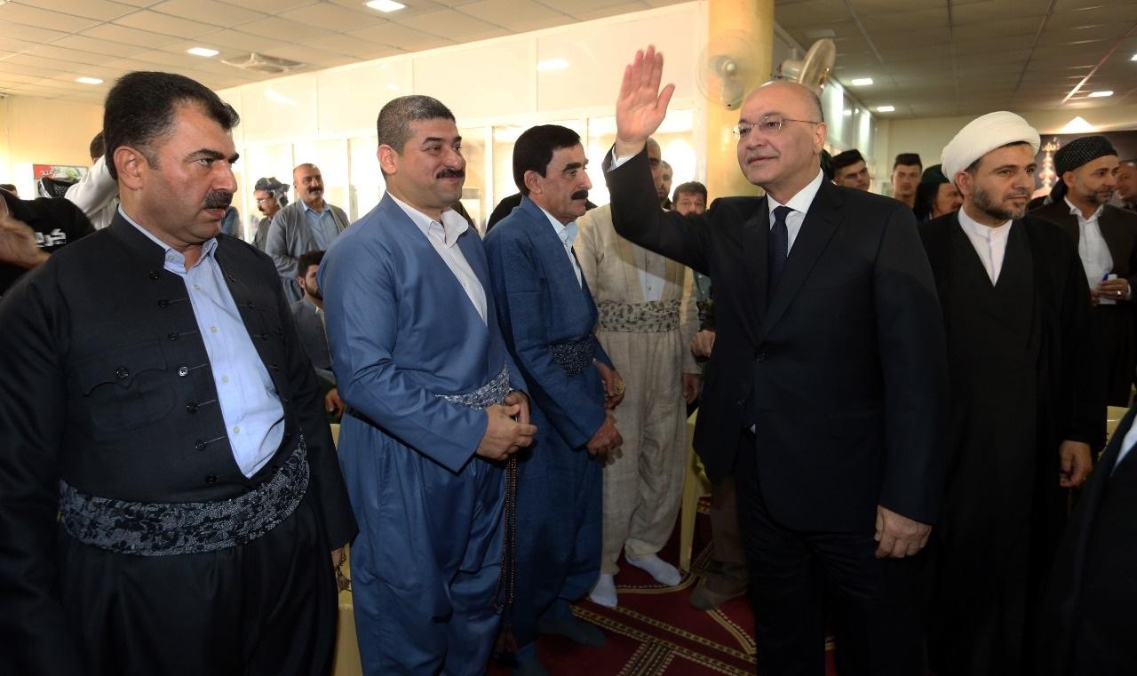 برهم صالح:الأكراد البرزنجية هم أحفاد الحسين بن علي